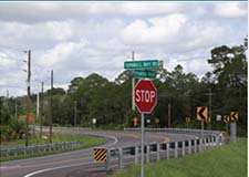Volusia County Pioneer Trail Curve Realignment